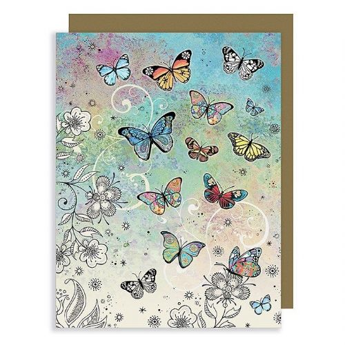 Bug Art Collection Butterfly Mini Gift Card